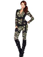Adult Pretty Paratrooper Costume