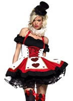 Adult Pretty Playing Card Costume
