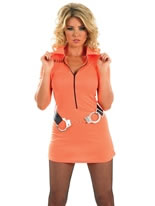 Adult Prisoner Girl Costume