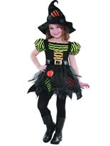 Child Pumpkin Patch Witch Costume [996225]