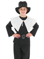 Puritan Boy Childrens Costume