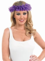 Purple Lei Headband