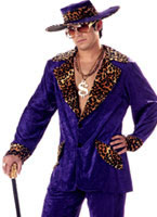 Purple Pimp Costume [00839]