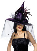 Purple Witch Hat [34924]