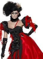 Adult Queen of Hearts Broken Costume [23020]