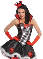 Tease Queen of Hearts Costume