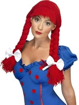 Rag Doll Red Wig [42233]
