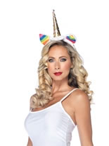 Rainbow Unicorn Headband [A1962]