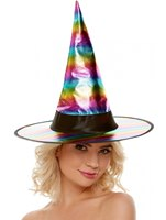 Rainbow Witch Hat