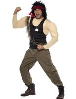 Adult Rambo Costume [33158]