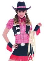 Rawhide Cowgirl Costume