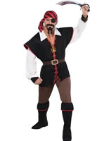 Rebel of the Sea Pirate Costume