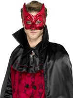 Red Masquerade Devil Mask