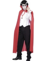 Red Mens Cape [24481]