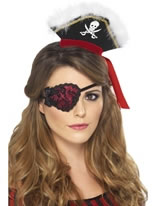 Lace Pirate Eyepatch [20805]