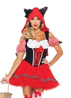 Adult Red Riding Wolf Costume [83931]