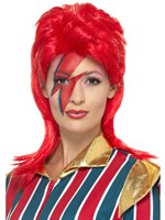 Red Space Superstar Wig