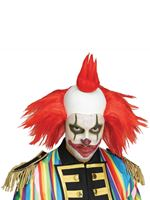 Red Twisted Clown Wig [5407]