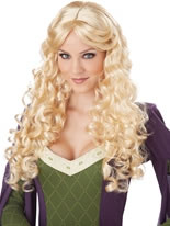 Adult Blonde Renaissance Wig