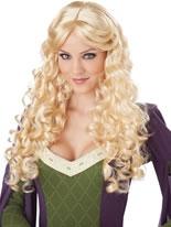 Adult Blonde Renaissance Wig [70695]