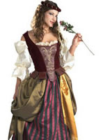 Adult Renaissance Maiden Costume [56129]