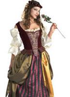 Adult Deluxe Renaissance Maiden Costume [56129]