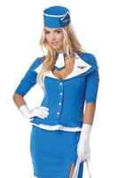 Retro Stewardess Costume [01209]
