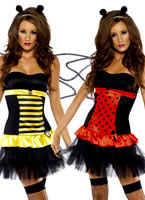 Reversible Bumble Bee Lady Bug Costume