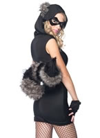 Adult Risky Raccoon Costume [83881]