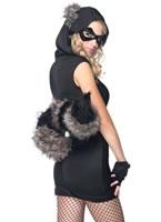 Adult Risky Raccoon Costume [83881]