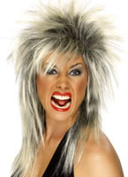 Rock Diva Wig Blonde And Black