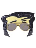 Rock n Roll Star Glasses with Quiff [BA2131]