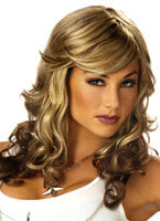 Rock Vixen Blonde and Brown Wig