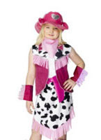 Child Rodeo Girls Costume