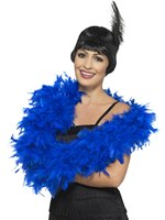 Royal Blue Deluxe Feather Boa