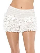 Ruffled Pantaloons White [30309]