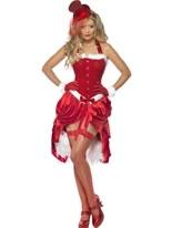 Adult Santa Baby Burlesque Costume [23055]