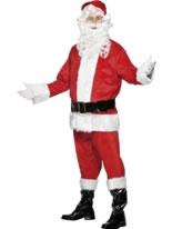 Adult Deluxe Santa Costume [24502]