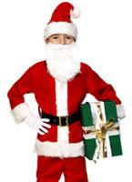 Child Deluxe Santa Costume [34584]