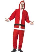 Adult Santa Onesie Costume