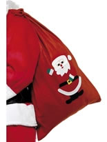 Santa Sack Red Fleece [24497]
