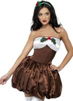 Adult Saucy Pud Costume