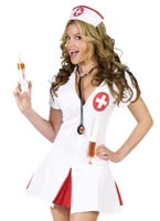 Adult Say Ahhh Nurse Costume [122144]