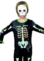 Child Scary Spider Skeleton Costume [35672]