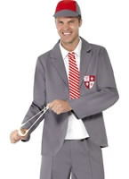 Adult School Boy Costume