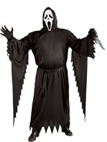 Adult Scream Stalker Ghost Face Costume