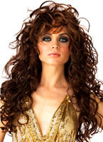Adult Brown Seduction Wig