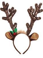 Sequin Antler Headband