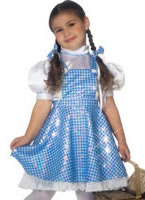 Child Sequin Dorothy Costume