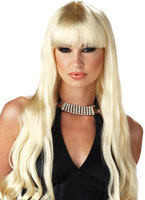 Serpentine Blonde Wig